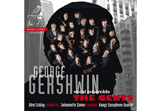 The Gents, Johannette Zomer - The Gents Sing Gershwin - (SACD Hybrid)