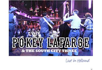 Pokey Lafarge, The South City Three - Live In Holland - (CD)