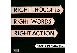 Franz Ferdinand - Right Thoughts, Right Words, Right Action (CD)