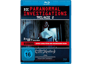 Paranormal Investigations Trilogie 2 - Teil 4-6 [Blu-ray]
