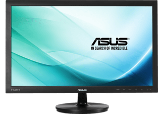 ASUS VS247HR 23.6 Zoll Full-HD Monitor (HDMI , D-Sub, DVI-D, 3,5 mm Mini-Anschluss (for HDMI Only) Kanäle, 2 ms Reaktionszeit)