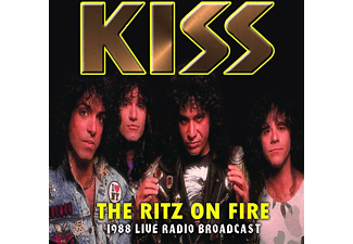 Kiss - The Ritz On Fire (1988 Live Radio Broadcast) - (CD)