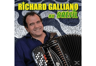 Richard Galliano - Richard Galliano Au Brésil - (CD)