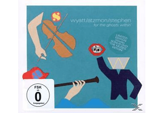Wyatt,Robert/Atzmon,Gilad/Stephen,Ros - For The Ghosts Within (Ltd Edition W. Dvd) [CD]