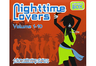VARIOUS - Nighttime Lovers Vol.1-10 - (CD)