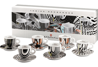 ILLY 4357 Art Collection Tobias Rehberger 6-tlg., Tassen