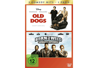 Old Dogs - Daddy oder Deal / Born to be Wild - Saumässig unterwegs (Doppelpack) [DVD]