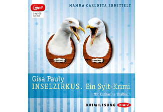 Gisa Pauly - Inselzirkus (mp3-Ausgabe) - (MP3-CD)