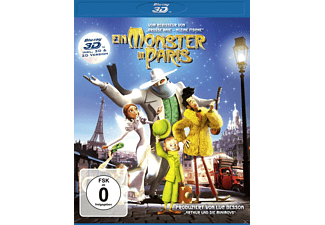 Ein Monster in Paris - (3D Blu-ray)