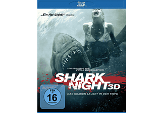 SHARK NIGHT - (3D Blu-ray)
