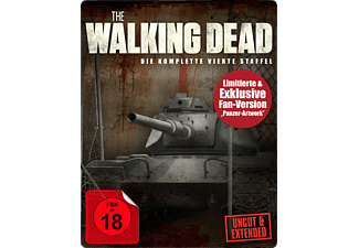The Walking Dead - Staffel 4 (Uncut & Extended Limited Steelbook Edition) [Blu-ray]