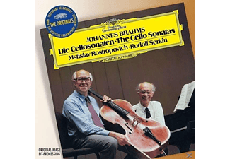 Mstislav Rostropowitsch, Rudolf Serkin - Brahms - Die Cellosonaten, The Cello Sonatas (CD)