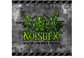 Noisuf-x - Warning [CD]