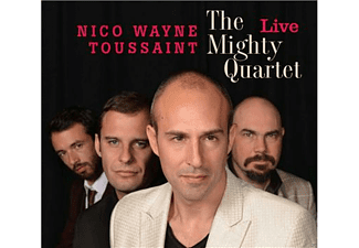 Nico Wayne Toussaint - The Mighty Quartet - Live - (CD)