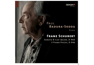 Paul Badura-skoda - Sonata B-Flat Major, D 960 - 3 Piano Pieces, D 946 - (CD)
