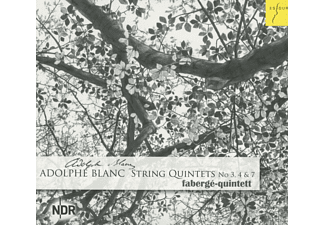 Faberge-quintett - String Qintets No. 3, 4 & 7 - (CD)