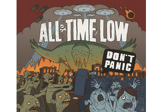 All Time Low - Don't Panic - (CD)