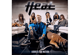 Heat - Address The Nation - (CD)