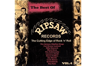 Various - The Best Of Ripsaw Records Vol.4 [CD]