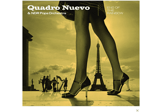Quadro Nuevo & Ndr Pops Orchestra - END OF THE RAINBOW - (CD)