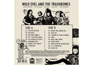 The Wild Evel/Trashbones - Tales From The Cave (Lim.Ed.+Poster) [Vinyl]