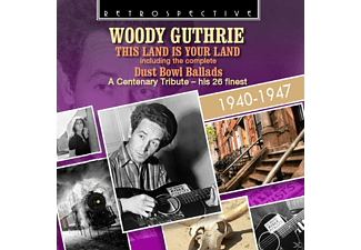 Woody Guthrie - This Land Is Your Land - (CD)