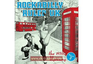VARIOUS - Rockabilly Ruled Uk Vol.3 [CD]