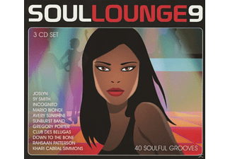VARIOUS - Soul Lounge Vol. 9 - 40 Soulful Grooves - (CD)