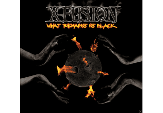 X-fusion - What Remains Is Black - (CD)