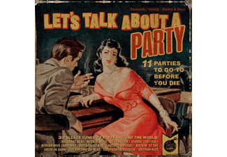 VARIOUS - Lets Talk About A Party - (CD)