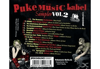 Various - Voll Uffe Omme Vol.2 (10 Jahre Puke Music) [CD]