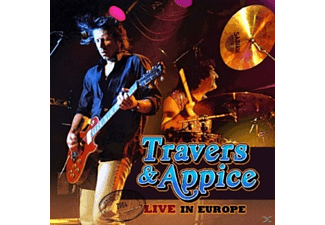 Travers & Appice - Live In Europe - (CD)