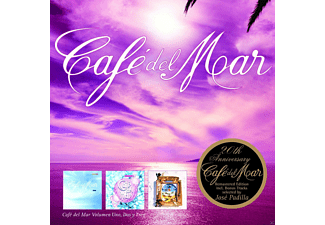VARIOUS - Cafe Del Mar Vol.1-3 (20th Anniversary Edition) - (CD)