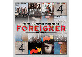 Foreigner - The Complete Atlantic Studio Albums 1977-1991 [CD]