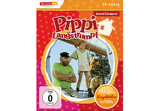 Pippi Langstrumpf TV-Serie - Komplettbox (5 DVDs) - (DVD)