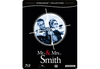 Mr & Mrs. Smith (Steelbook Edition) - (Blu-ray)