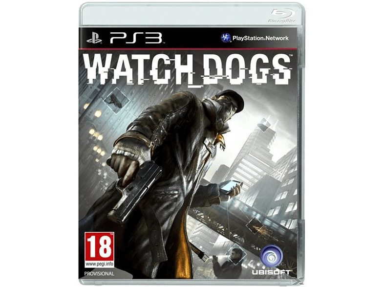 Watch Dogs Standard Edition gaming games ps3 games