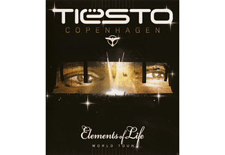 DJ Tiësto - Elements Of Life - World Tour - (Blu-ray)