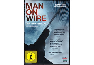 MAN ON WIRE - DER DRAHTSEILAKT - (DVD)