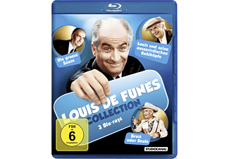 Louis de Funes Collection - (Blu-ray)