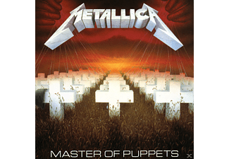 Metallica - MASTER OF PUPPETS [CD]