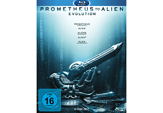 Prometheus to Alien - The Evolution Bluray Box Science Fiction Blu-ray