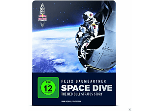 Space Dive: The Red Bull Stratos Story - (Blu-ray + DVD)