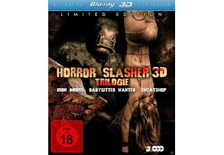 HORROR SLASHER (3D) TRILOGIE - (3D Blu-ray)