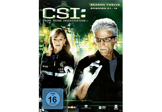CSI: Crime Scene Investigation - Staffel 12.1 - (DVD)