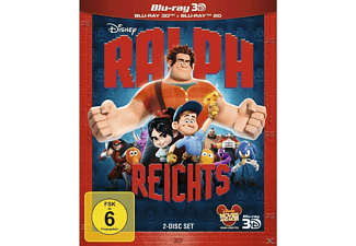 Ralph reicht's - 2 Disc Bluray [3D Blu-ray]