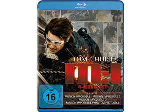Mission: Impossible - M:I 4-Movie Set [Blu-ray]