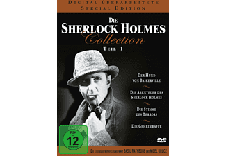 Die Sherlock Holmes Collection - Teil 1 (Special Edition) - (DVD)