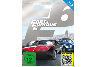 Fast & Furious 6 (Steelbook Edition) [Blu-ray]