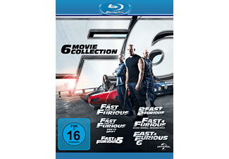 Fast & Furious - Box 6 (Movie Collection) - (Blu-ray)